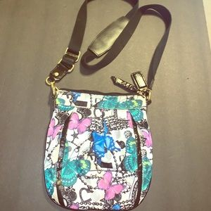 Coach Graffiti Butterfly Glam Bag